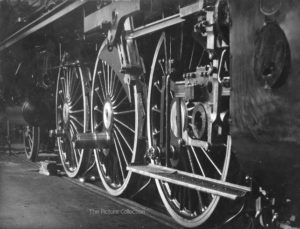 110-O. E. Hoppe, Borseg Werke train engine wheels