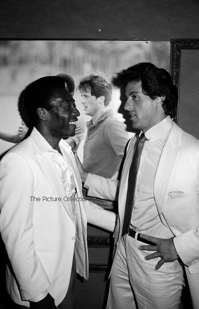13367895 Unknown photographer (soccer star Pele with Sylvester Stallone) 1981-The Picture Collection